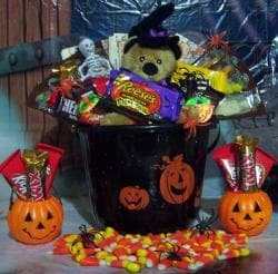 Pumpkin Patch Halloween Gift Bucket