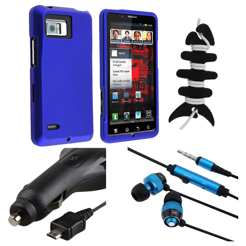 BasAcc Case/ Headset/ Wrap/ Charger for Motorola Droid Bionic XT875