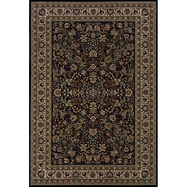 Style Haven Astoria Black/ Ivory Traditional Area Rug (10' x 12'7) at Sears.com