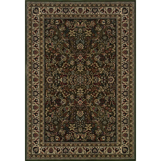 Style Haven Astoria Green/ Ivory Traditional Area Rug (10' x 12'7) at Sears.com