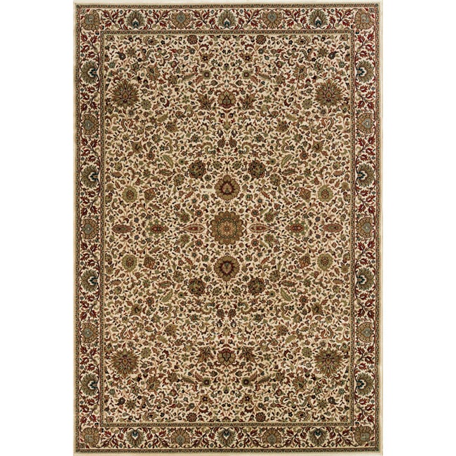 Style Haven Astoria Ivory/ Brown Traditional Area Rug (10' x 12'7) at Sears.com
