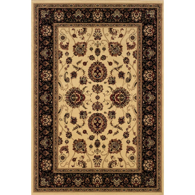 Style Haven Astoria Ivory/ Black Oriental Area Rug (10' x 12'7) at Sears.com