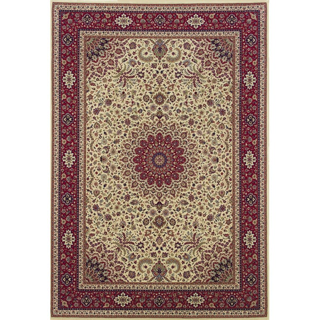 Style Haven Astoria Ivory/ Red Oriental Area Rug (10' x 12'7) at Sears.com