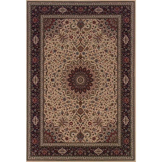 Style Haven Astoria Ivory/ Black Traditional Area Rug (10' x 12'7) at Sears.com