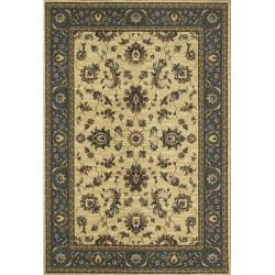Astoria Ivory/ Blue Traditional Area Rug (10' x 12' 7)