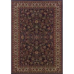Astoria Blue/ Red Traditional Area Rug (10' x 12'7)