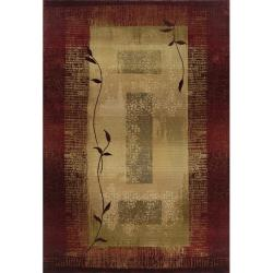 Baldwin Red/Beige Transitional Area Rug (9'9 x 12'2)