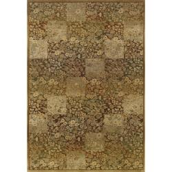 Baldwin Green/Gold Transitional Area Rug (9&#39;9 x 12&#39;2)