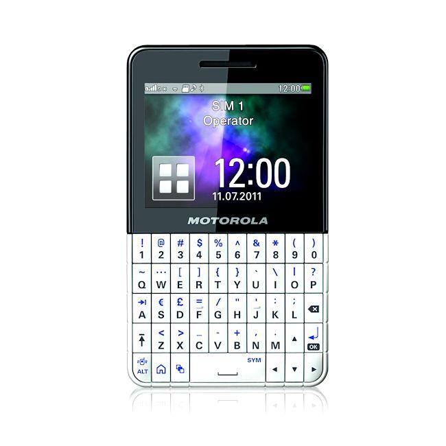 MOTOROLA EX119 Dual-SIM Unlocked GSM Cell Phone