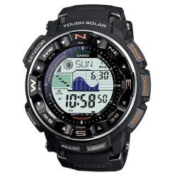 Casio Men's ProTrek 'Pathfinder' Triple Sensor Solar Power Atomic Watch