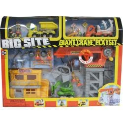 Keenway (Big site) Giant crane playset (with sound and light)