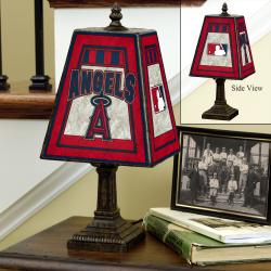 Anaheim Angels 14-inch Art Glass Lamp