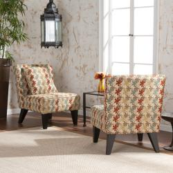 Jaclyn Slipper Chairs with Pillows (Set of 2)