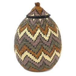 Ukhamba Zig-Zag Beer Basket (South Africa)