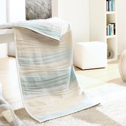 Bocasa Flow Woven Throw Blanket, 60 x 80