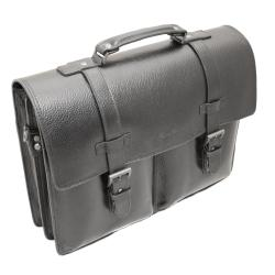 Kenneth Cole New York 'Port It Out' Black Leather Flap-over Briefcase