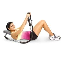 CAP Barbell Ergonomic Ab Roller with Supportive Cushioned Headrest