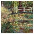 Claude Monet &#39;Waterlily Pond - Pink Harmony&#39; 1900 Canvas Art
