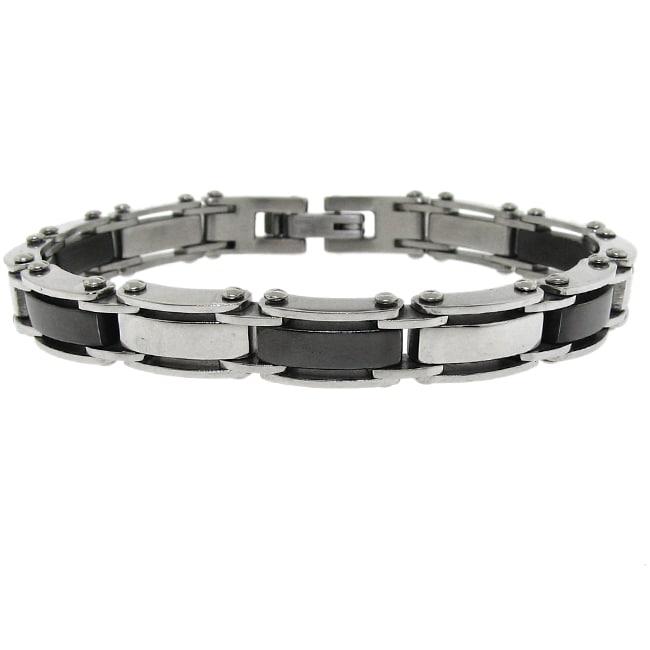 Stainless Steel Men's Link Bracelet