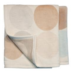 Bocasa Spots Woven Throw Blanket