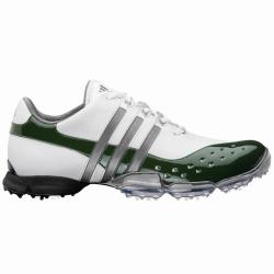 Adidas Men's Powerband 3.0 White/ Green Golf Shoes