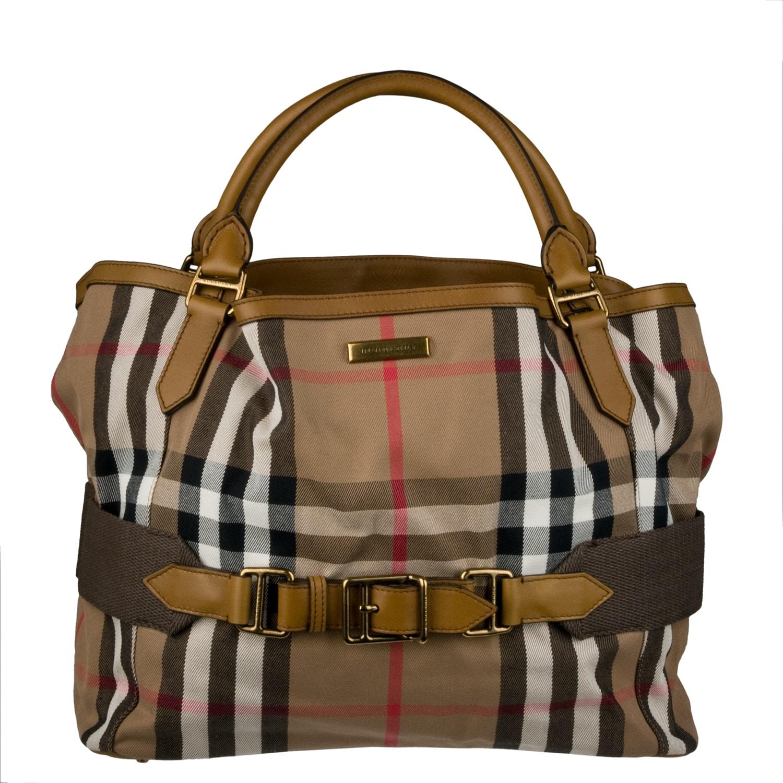 Burberry Small Vintage Check Shopper Bag