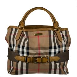 Burberry Small Vintage Check Shopper Bag