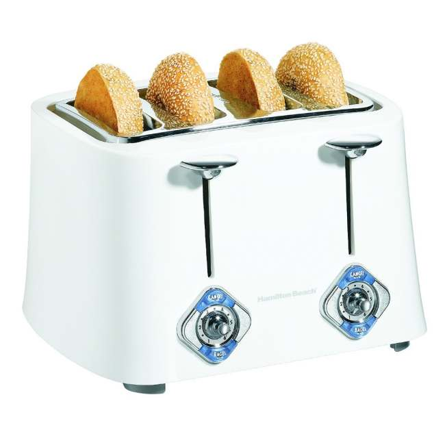 Hamilton Beach 24625 Cool Touch 4-Slice Extra Wide Slot Toaster