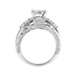 14k White Gold 2ct TDW White Diamond Ring (G-H, I1-12)