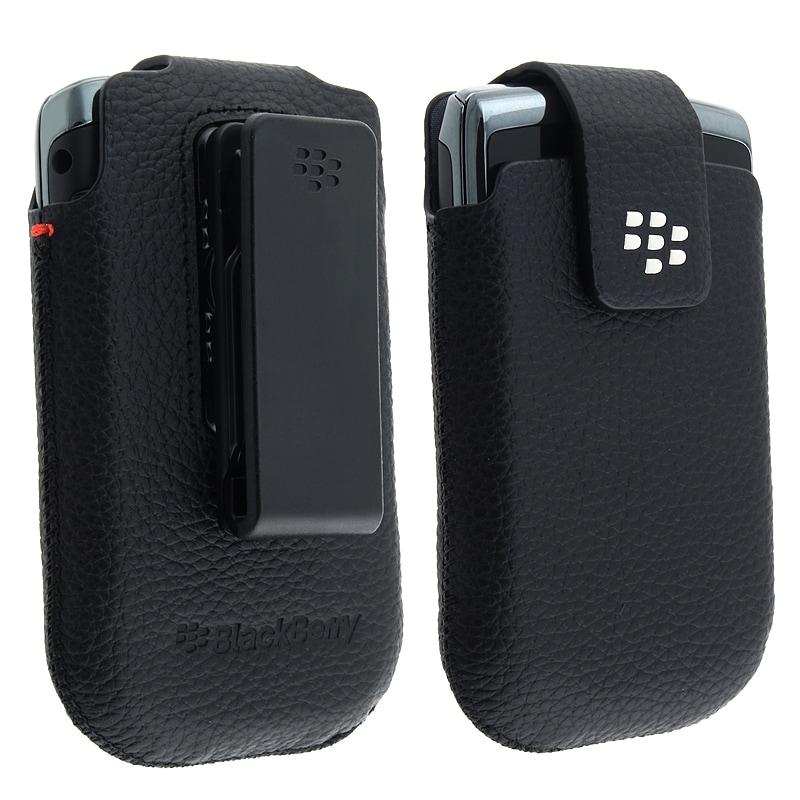 Blackberry Torch 9800/ Bold Slider Leather Swivel Case HDW-31012-001