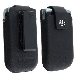 Blackberry Torch 9800/ Bold Slider Leather Swivel Case HDW-31012-001