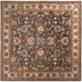Hand-tufted Akaishi Wool Rug (6' Square)
