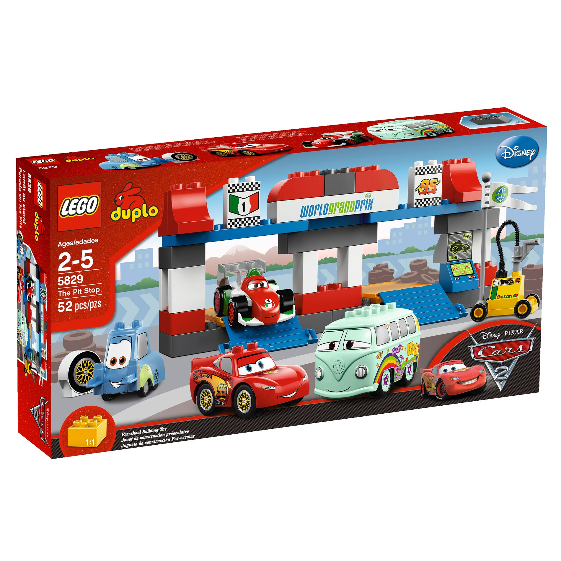 LEGO The Pit Stop Toy Set