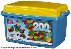 Mini Bloks Classic 200-piece Tub Play Set