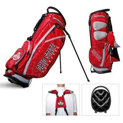 Ohio State University NCAA Fairway Stand Golf Bag
