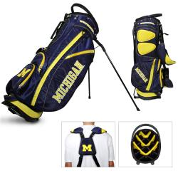 Michigan Wolverines NCAA Fairway Stand Golf Bag