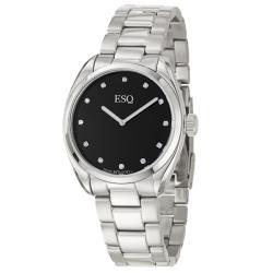ESQ by Movado Men's 'Sport Classic' Stainless Steel Diamond Quartz Watch