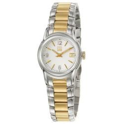 ESQ by Movado Women's 'Quest' Stainless and Yellow Goldplated Steel Quartz Watch