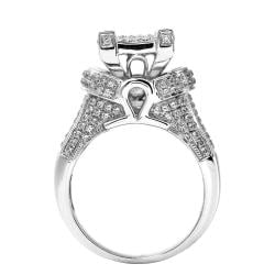 14k White Gold 1 1/4ct TDW White Diamond Ring (G-H, I1-12)