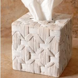 Nadina Boutique Whitewash Tissue Cover