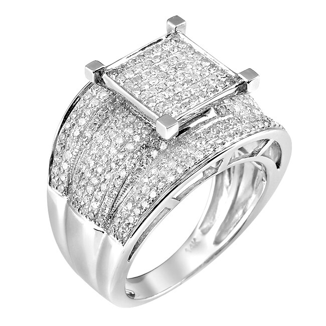 14k White Gold 1 1/4ct TDW White Diamond Ring (G-H, I1-I2)