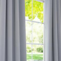 Purit Blue Thermal Blackout 96-inch Curtain Panel Pair