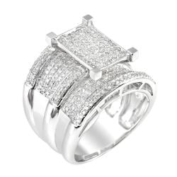 14k White Gold 1 1/2ct. TDW White Diamond Ring (G-H, I1-I2)