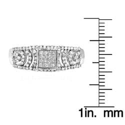 10k White Gold 1/3ct TDW White Diamond Ring (G-H, I1-I2)