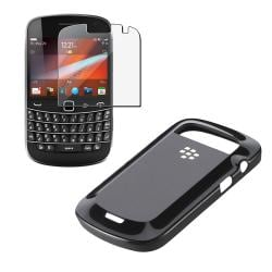 Blackberry Bold 9900/ 9930 OEM Black Hard Shell/ Screen Protector