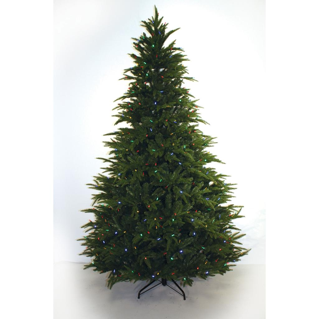 Good Tidings Fir Multi Color LED 7 foot Christmas Tree