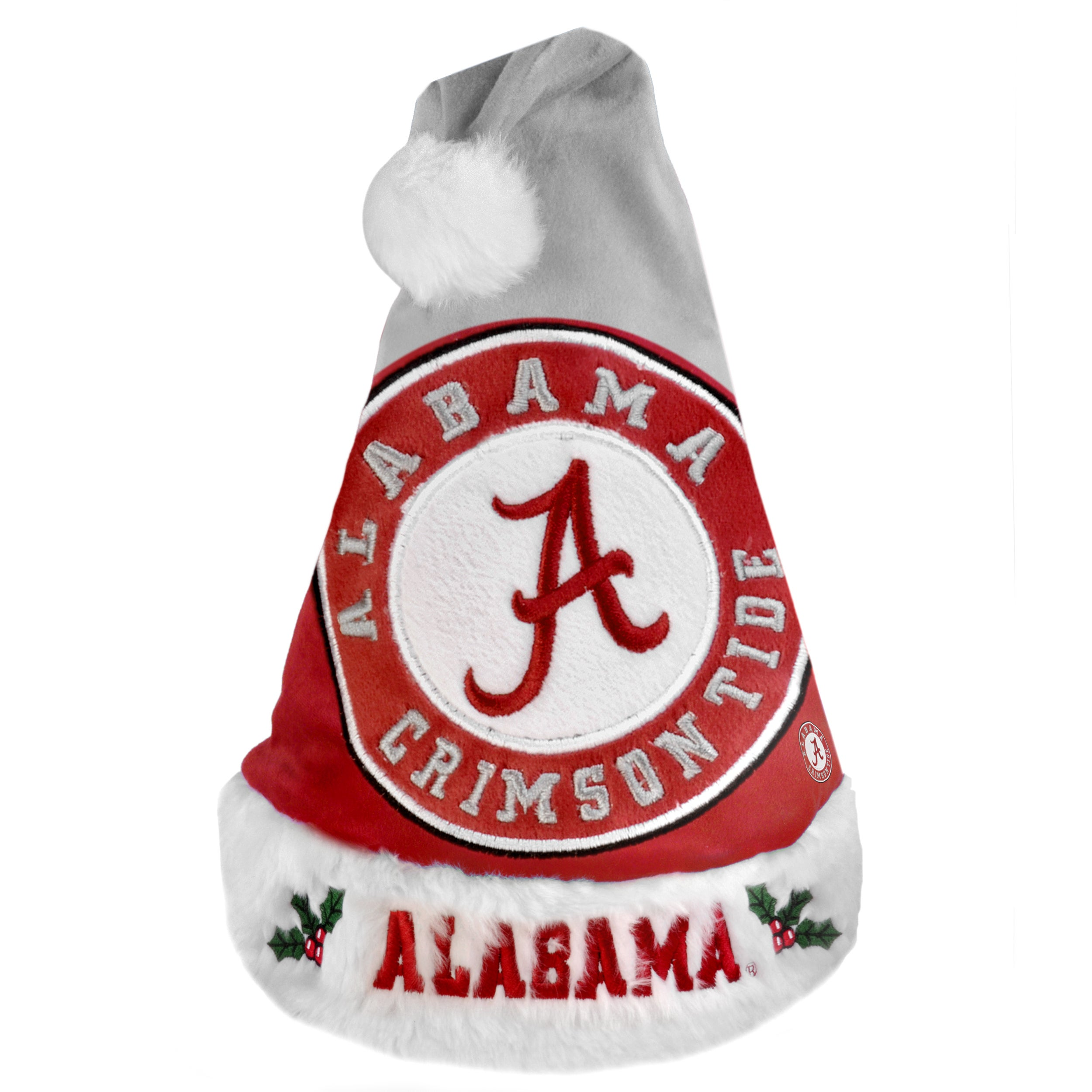 Alabama Crimson Tide 2011 Colorblock Runoff Logo Santa Hat