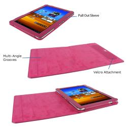rooCASE Samsung Galaxy Tab 10.1 Dual View Leather Case Cover Stand