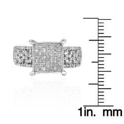 10k White Gold 1/2ct TDW White Diamond Ring (G-H, I1-I2)