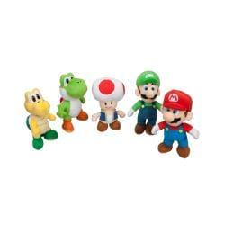 Super Mario Collector Plush 5-pack
